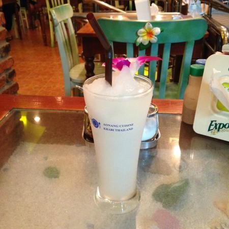 Ao Nang Cuisine: Lemon drink