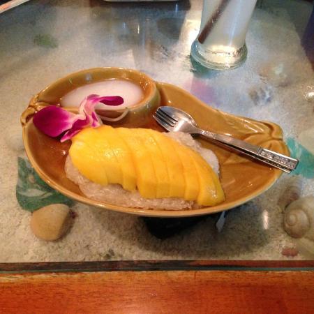 Ao Nang Cuisine: Sticky mango rice