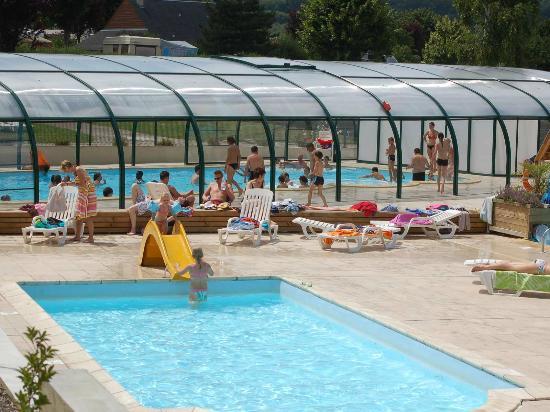 Camping La Vallée : Parc aquatique