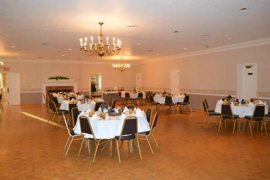 Industry, PA: Banquet hall upstairs, Willows Inn