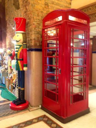 UK-inspired props at the Western Market in Sheung Wan