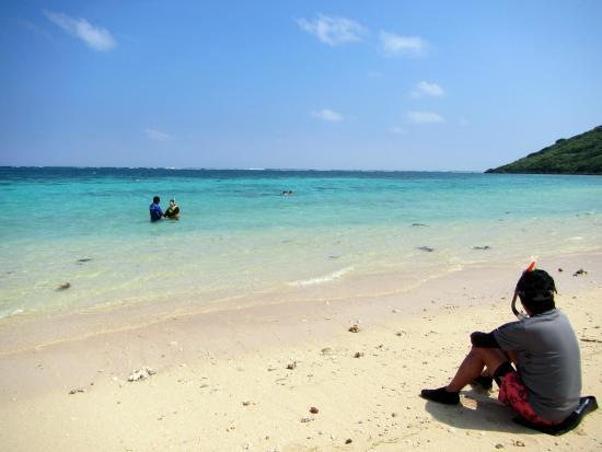Aragusuku Beach: 新城海岸の海