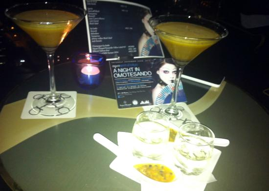 Aqua Roma, Aqua Tokyo & Aqua Spirit : Porn Star Martinis