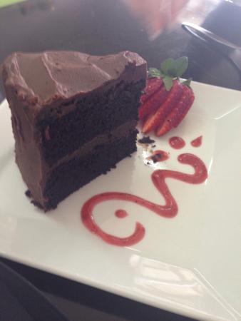 Lauren's : Best chocolate cake in the world!