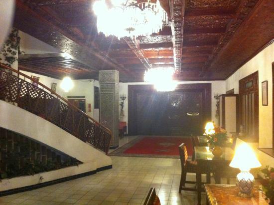 Chellah Hotel Tangier : Hall Hotel