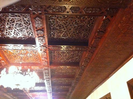 Chellah Hotel Tangier : Hall