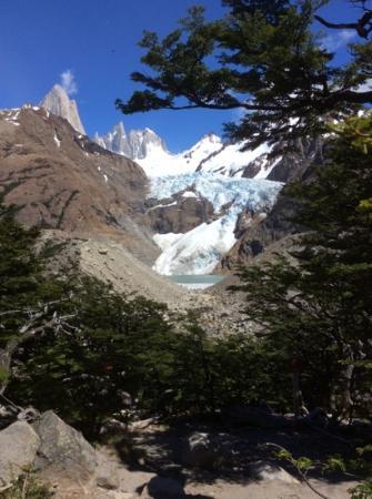 Glaciar Piedras Blancas: si, es real.