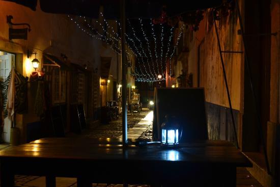 O Lidador: столики на улице