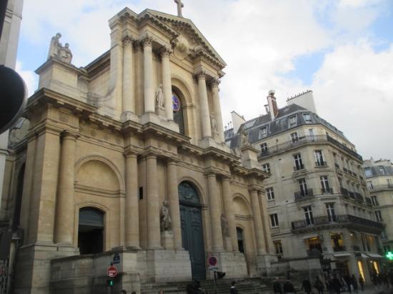 Eglise Saint-Roch : 外観