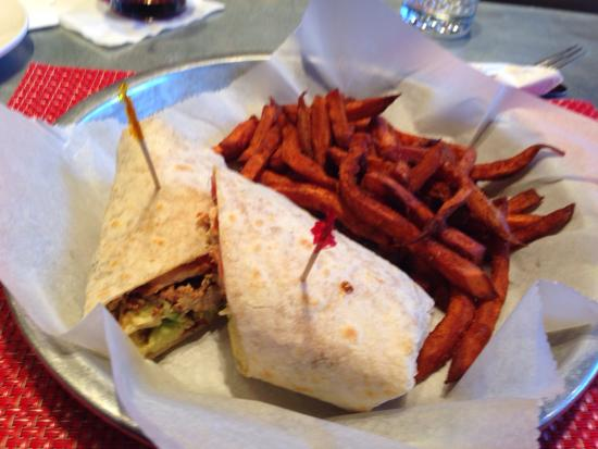 Christopher's a Neighborhood Place: Crazy chicken wrap