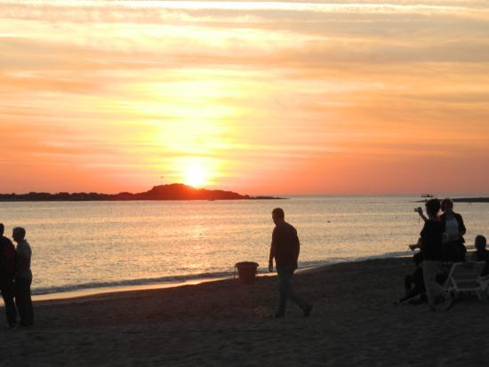 Lycus Beach Hotel: sunset over Ak Deniz