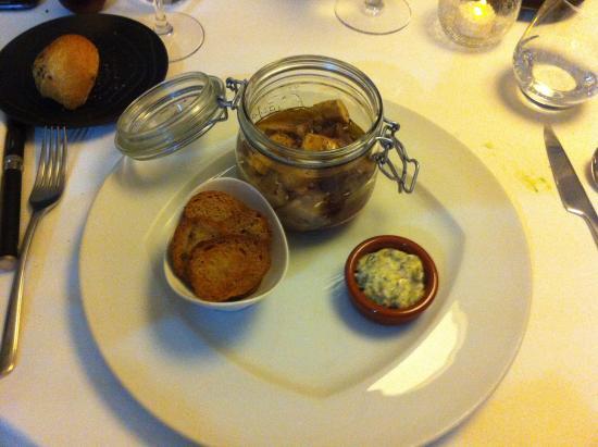 L'Auberge Du Marche : association du veau et foie gras
