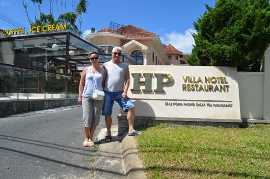 HP Villa Hotel: Центральный вход в отель