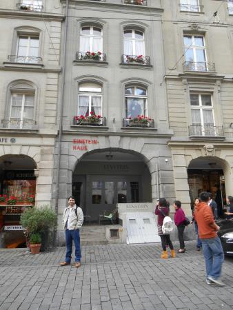 Einstein Haus - Picture of Einstein House (Einsteinhaus), Bern ...
