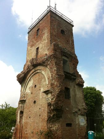 Tortona, Italie : The tower symbol of the city.