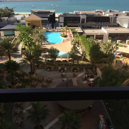 Amwaj Rotana: View from room 602