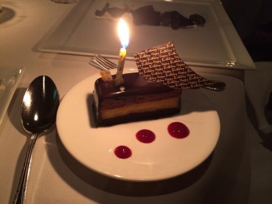 La Mer -  L'Aperitif: 妻へのサプライズケーキ誕生日