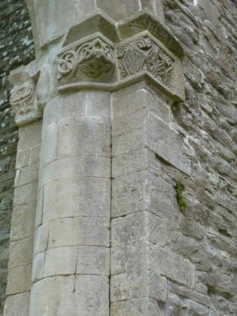 Boyle Abbey : Well preserved carvings