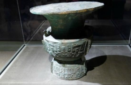 Bowers Museum of Cultural Art: from  the Sanxingdui special exhibit (Nov. 2014)