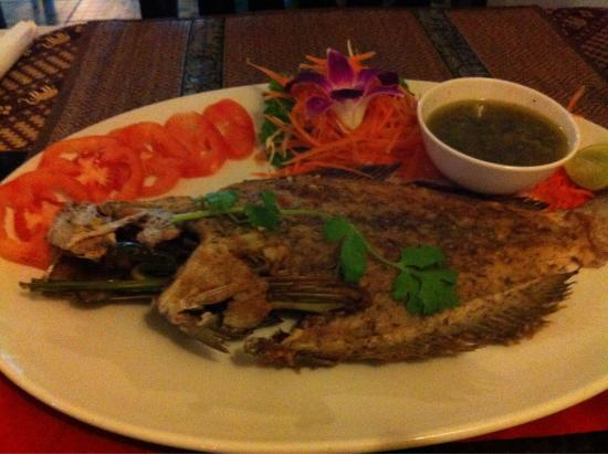 Blue Manao: Grilled sole