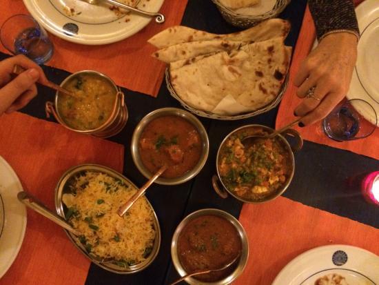 The Dhaba: Terza portata del menù speciale, curry.