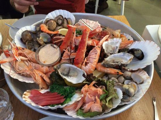 Sushi picture of the seafood bar amsterdam tripadvisor for Seafood bar van baerlestraat amsterdam