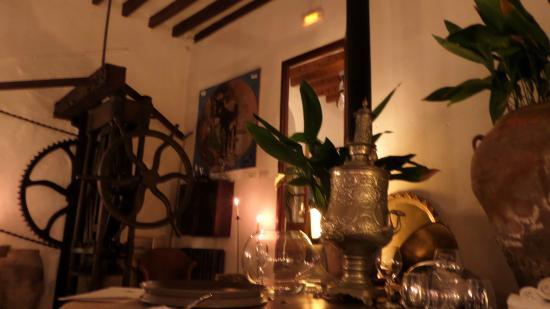 Ca's Xorc Restaurante: im stilvoll dekorierten Restaurant