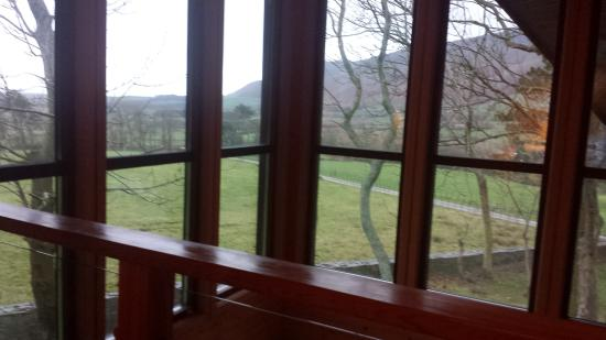 Brockwood Hall: View from upstairs living area