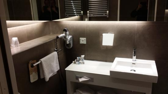 Mercure Paris Vaugirard Porte de Versailles Hotel: salle de bain