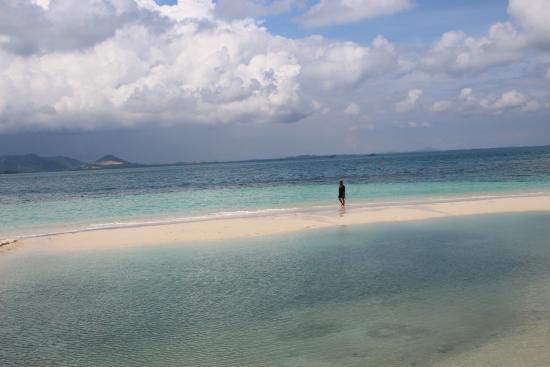 Pulau Pangkil Resort: Beautiful beach area