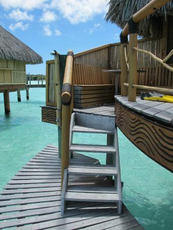 Bora Bora Pearl Beach Resort & Spa: Our bungalow