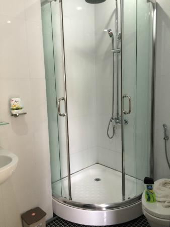 Canary Boutique Hotel: Bad mit Dusche