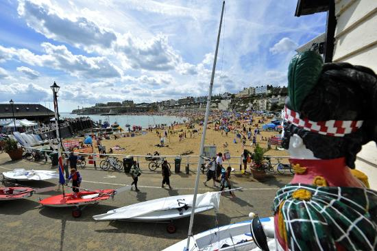 South Lodge Guest House: Viking Bay, Broadstairs