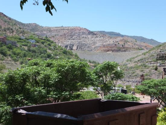 Jerome State Historic Park: Looking towards the United Verde mine