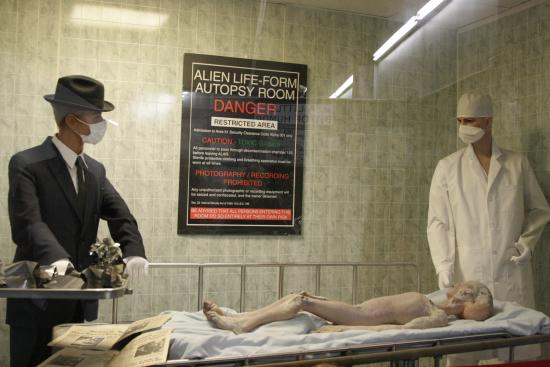 Alien autopsy. - Picture of International UFO Museum and Research Center, Roswell - Tripadvisor