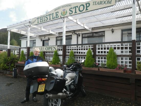 The Thistle Stop: Thistle Stop Restaurant nr Bridge of Oich