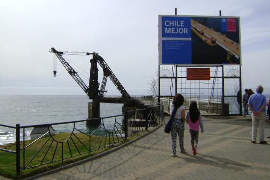 Muelle Vergara : Cartel de  Reformas