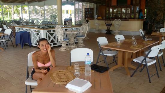 Anguilla Great House Beach Resort : il ristorante