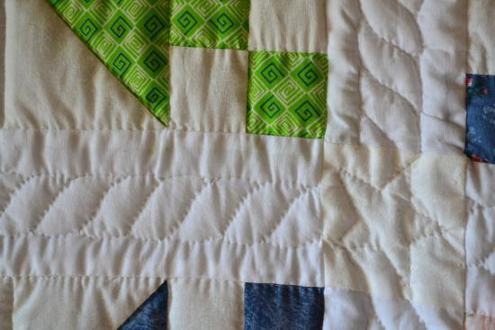 Montgomery, IN: One of the quilts