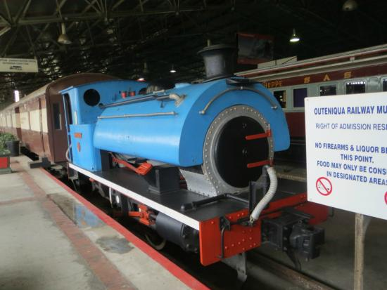 Outeniqua Transport Museum: Small tank engine from electric station