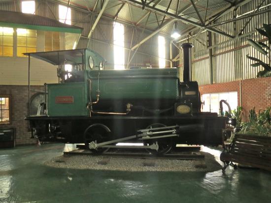Outeniqua Transport Museum: Small tank engine