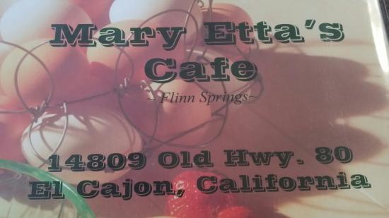 Mary Etta's Cafe