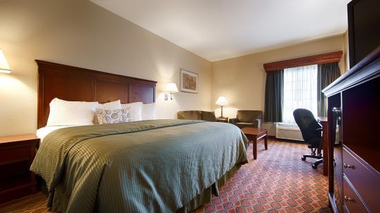 Best Western Plus Mascoutah/SAFB: Single King Room