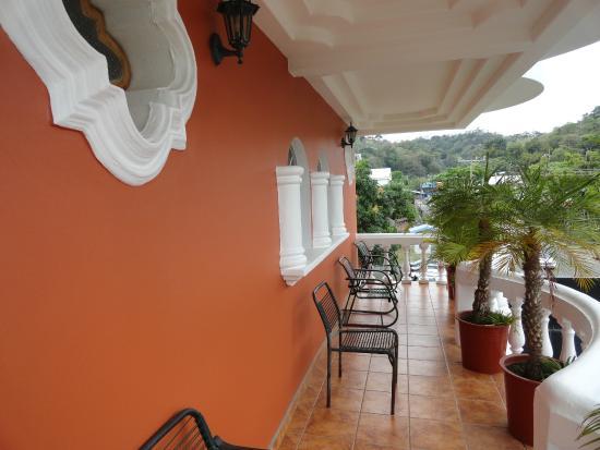 Hotel Le Priss: Balcon de l'hotel