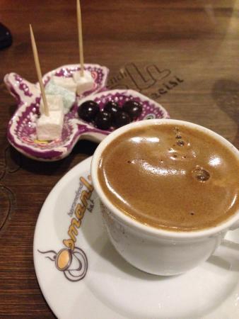 Antalya İli, Türkiye: Harika efe kahvesi