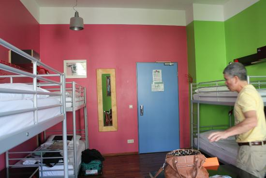The Circus Hostel: pretty cool rooms