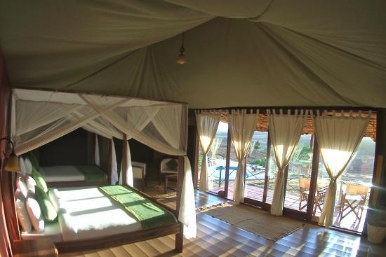 Karatu Simba Lodge: Zelt