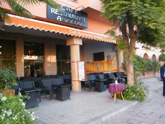 Hotel Oudaya : Strada entrata Oudaya 2