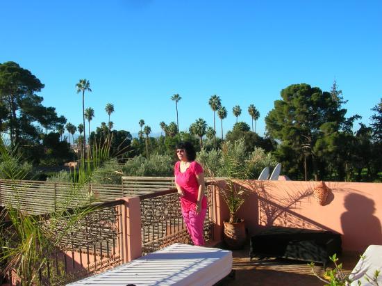 Riad Anya : vue de la terrasse
