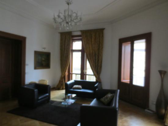 Malostranska Residence: Wohnzimmer